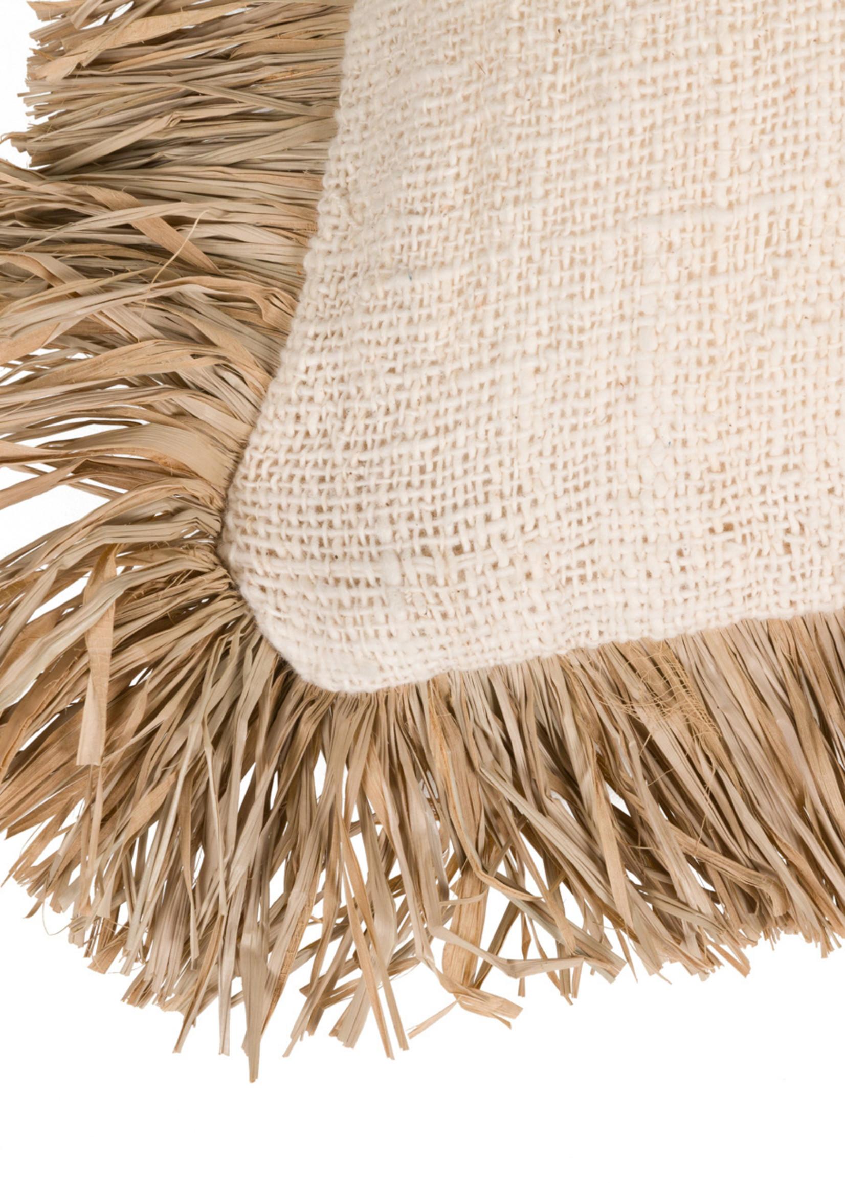 The Saint Tropez Cushion - Natural - L