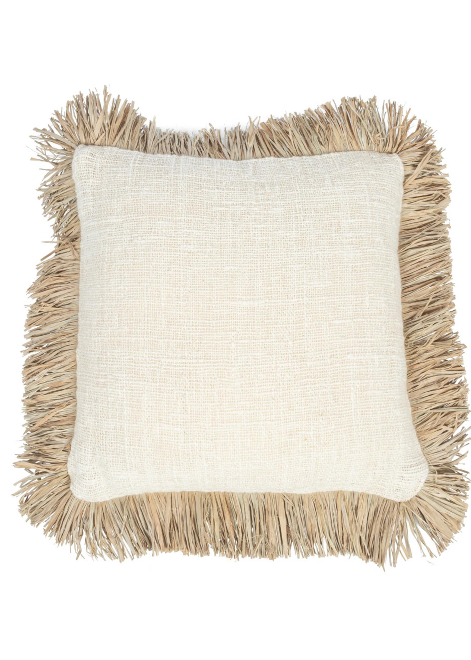 The Saint Tropez Cushion - Natural - M
