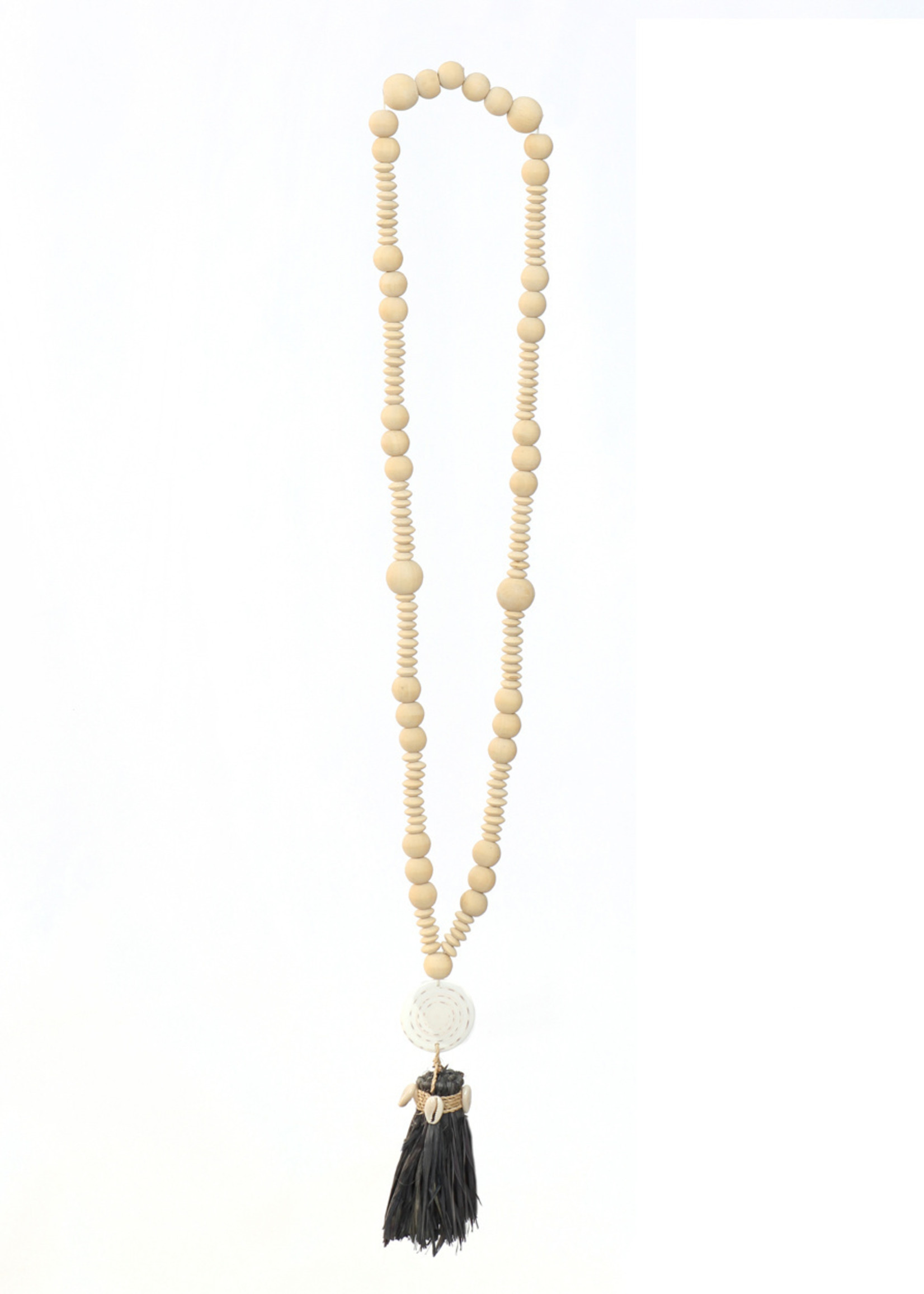 The Lovina Necklace - Natural Black