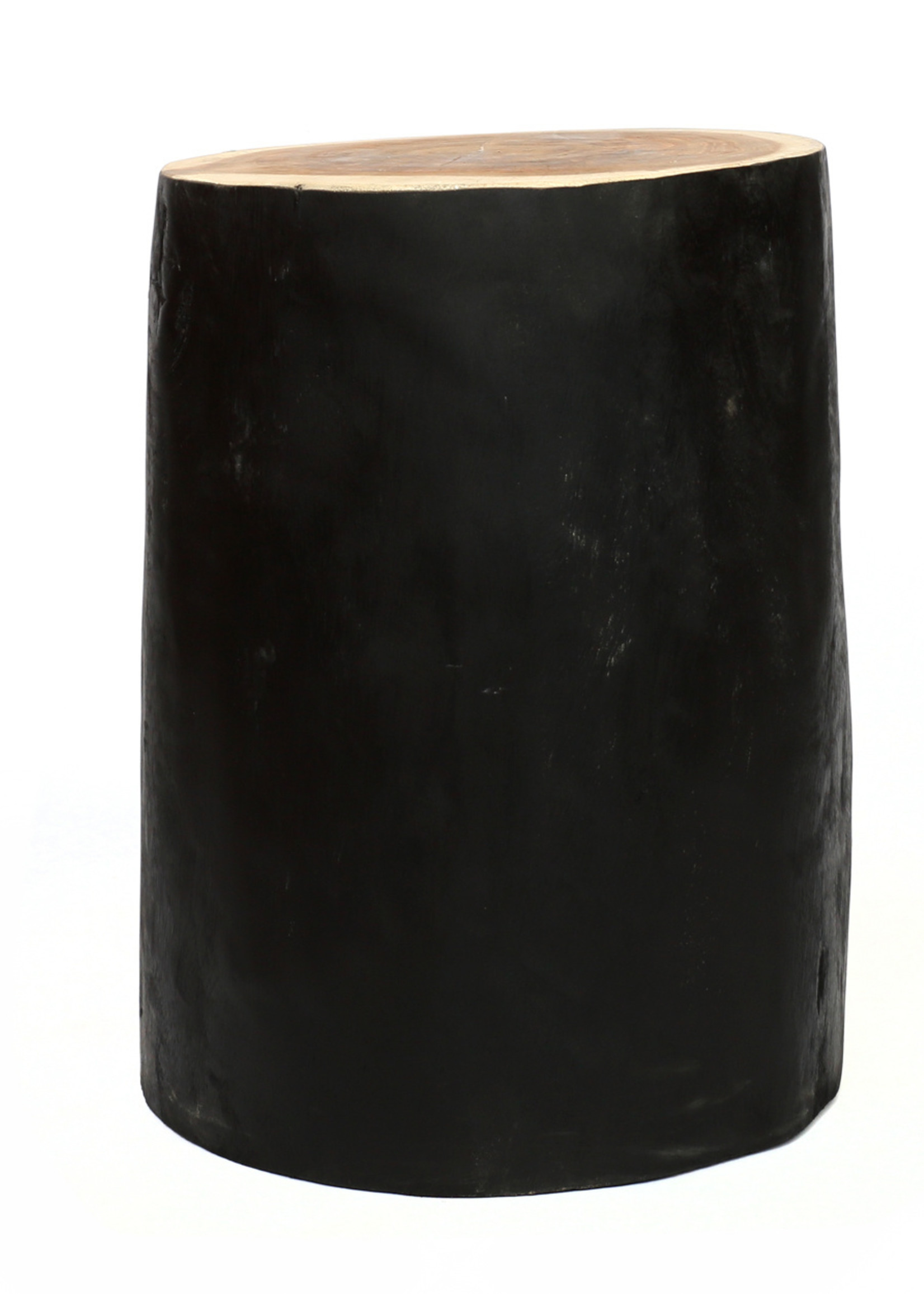 The Tribe Stool - Natural Black