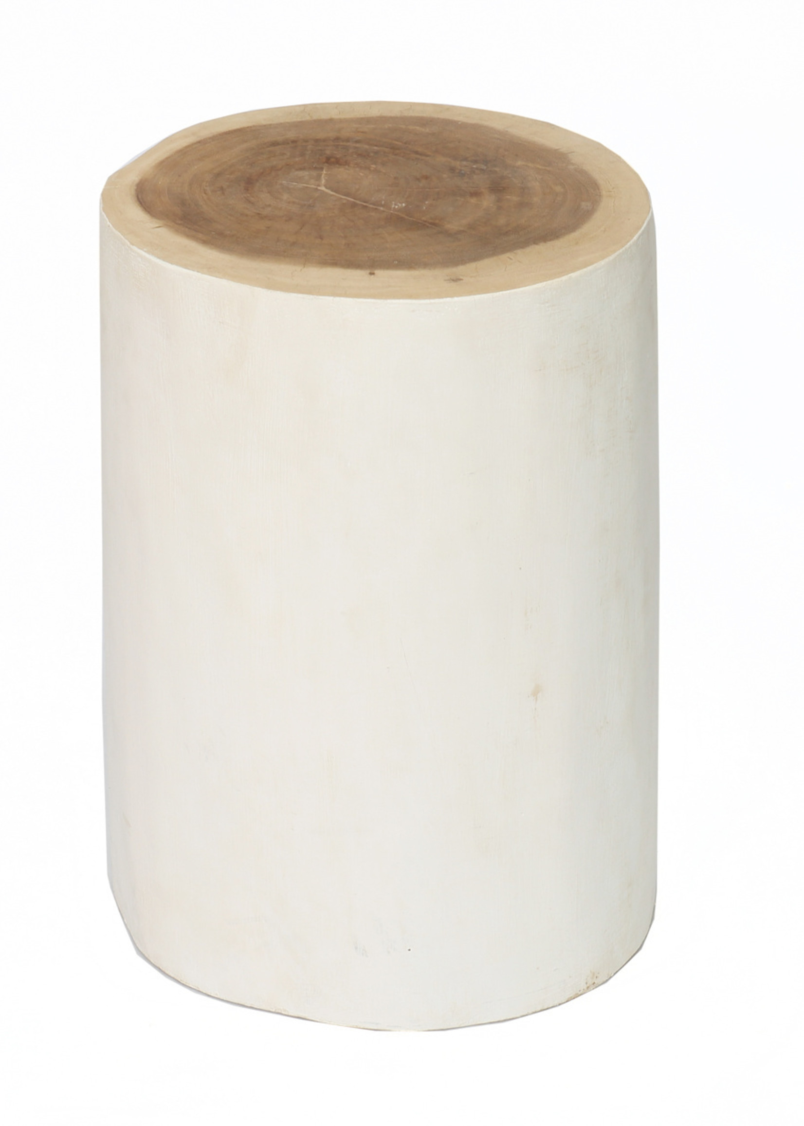 The Tribe Stool - Natural White