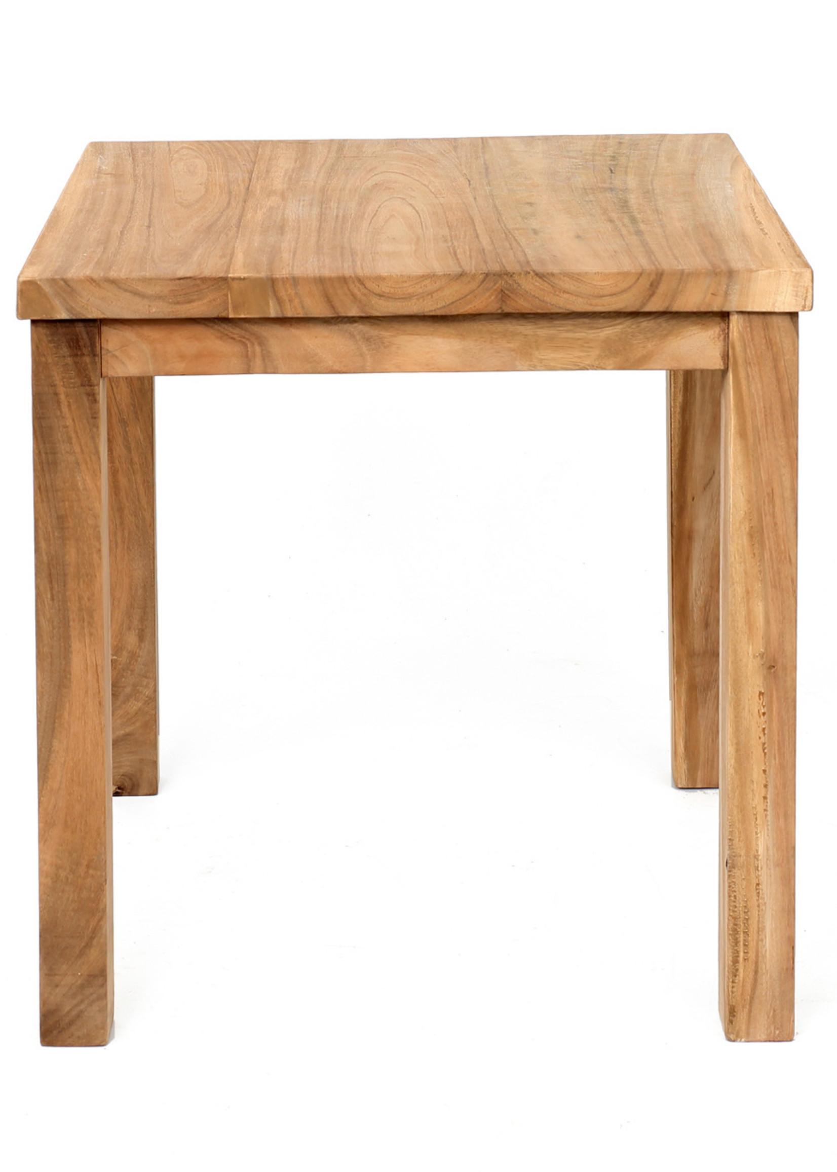 The Suar Sleek Table - Natural