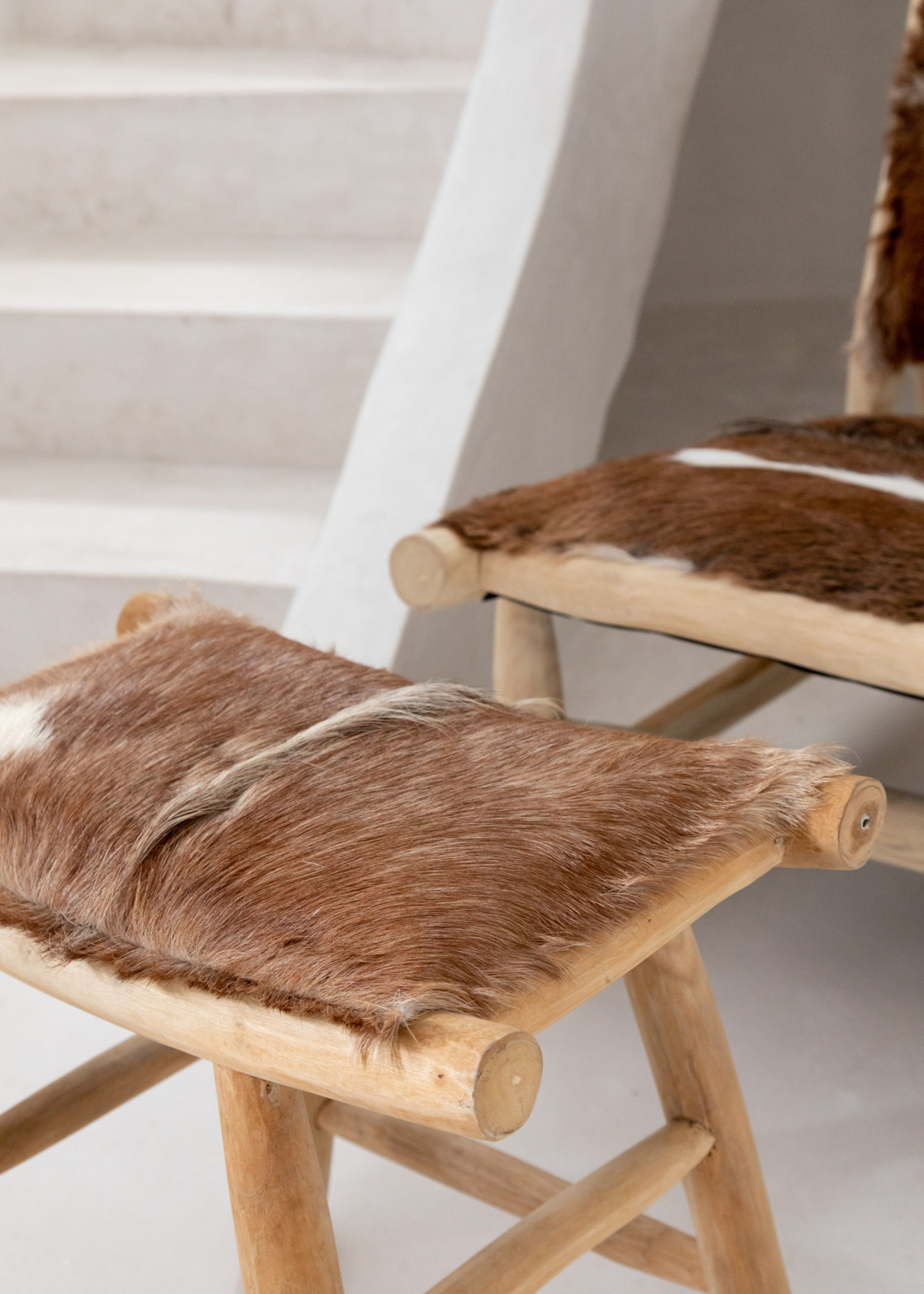 The Island Comfy Chair - Natural Brown