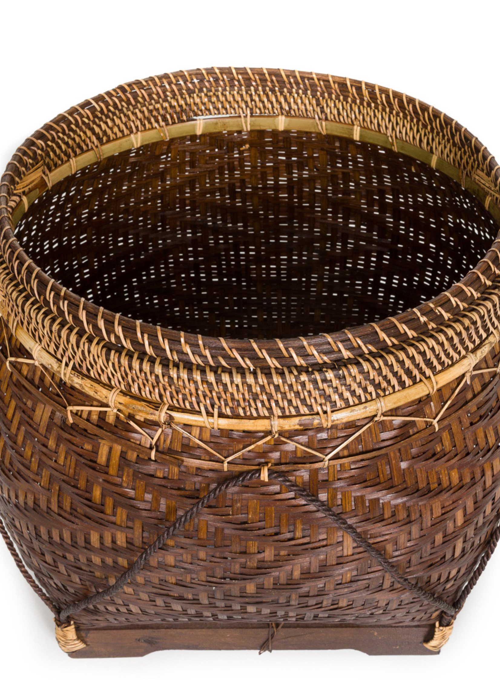 The Colonial Basket - Natural Brown