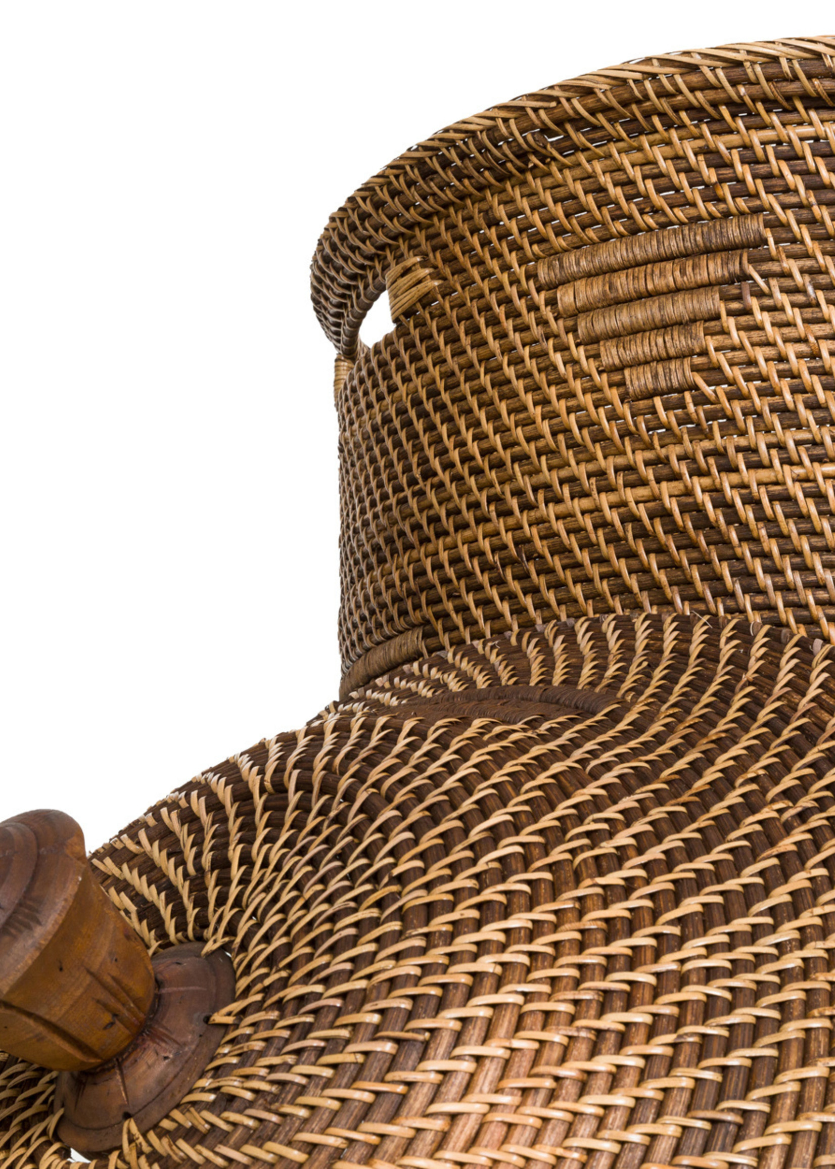 The Colonial Laundry Basket - Natural Brown - XL