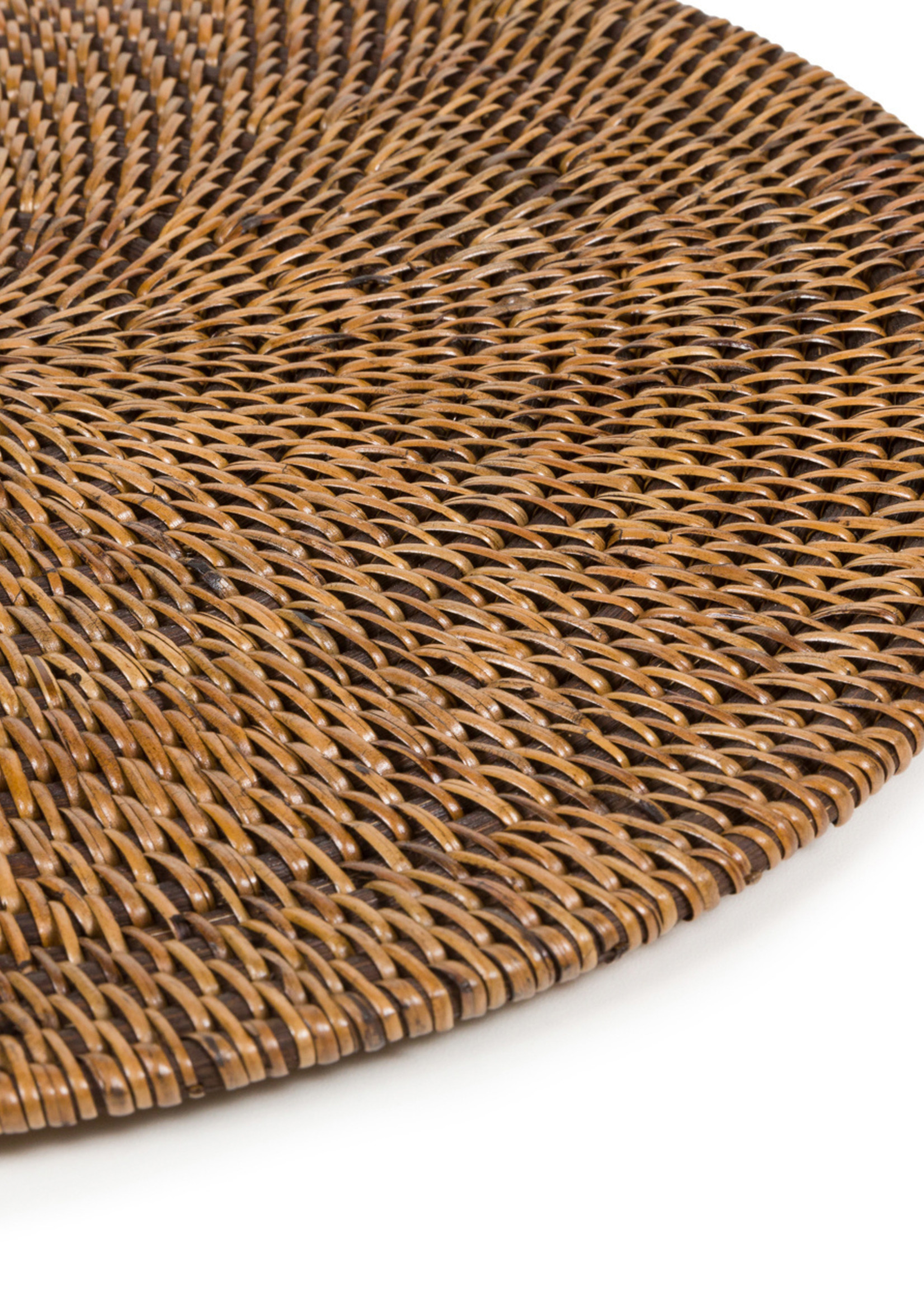 The Colonial Placemat - Natural Brown
