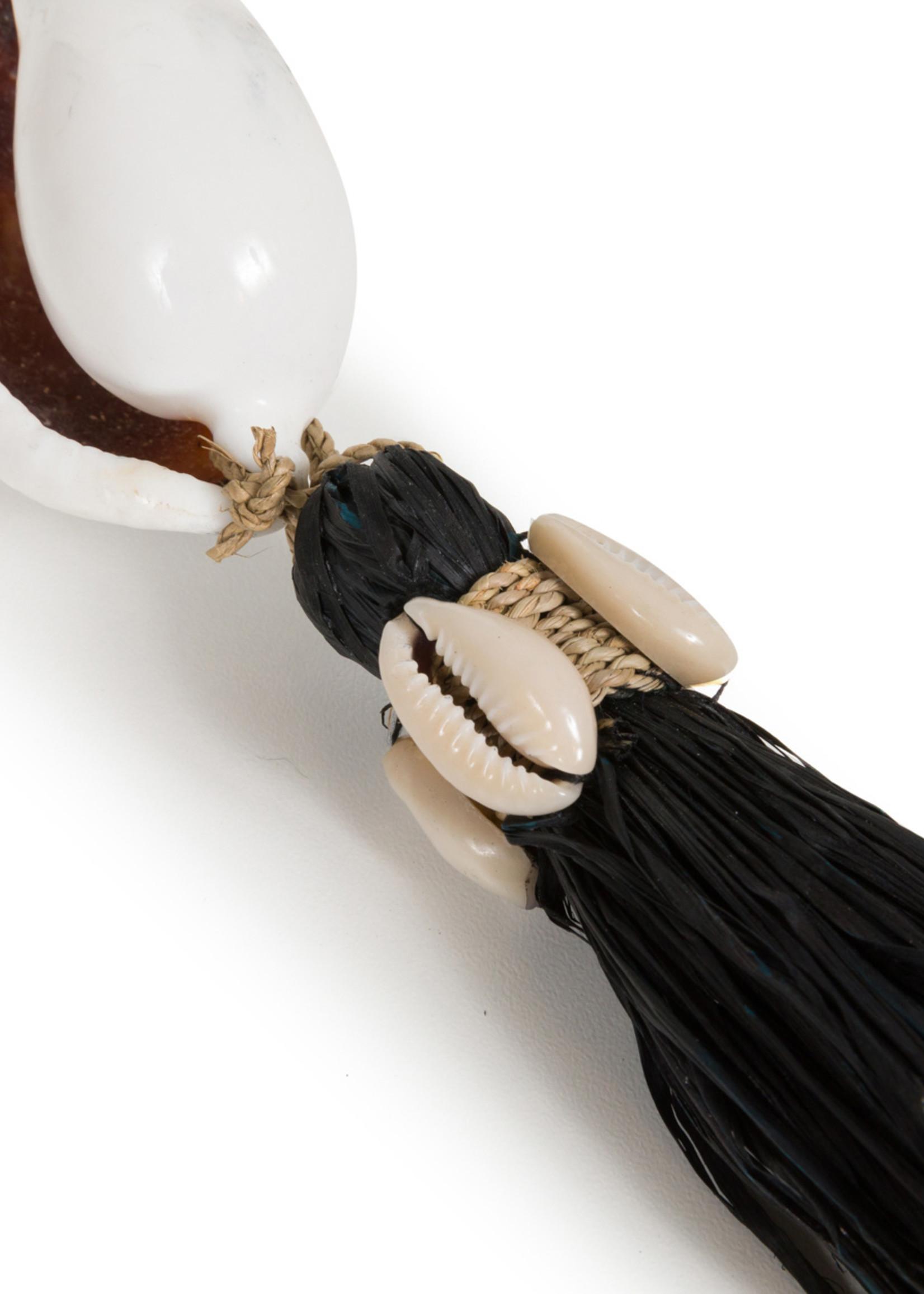 The Kubu Keychain - Black Natural