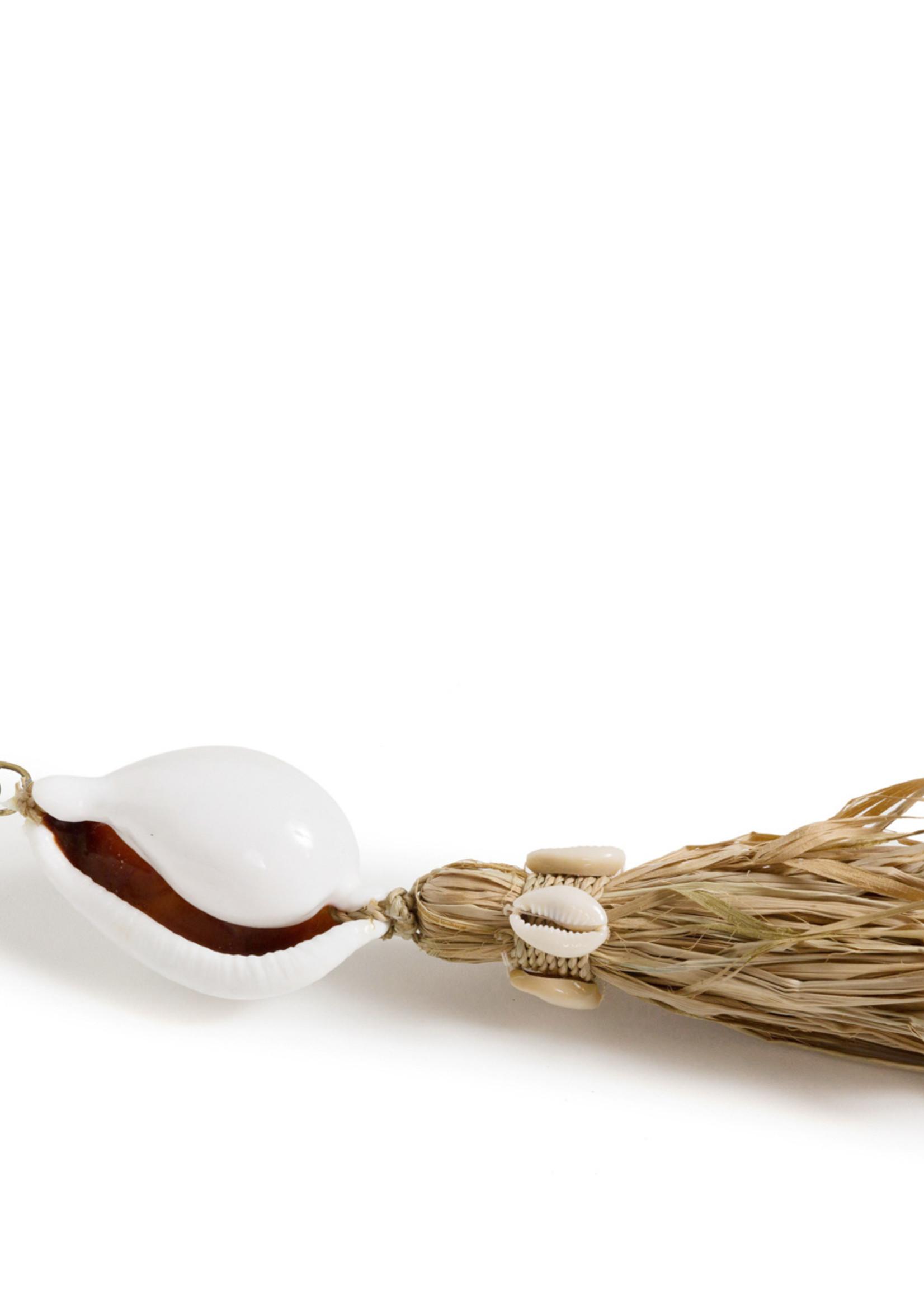 The Kubu Keychain - White Natural