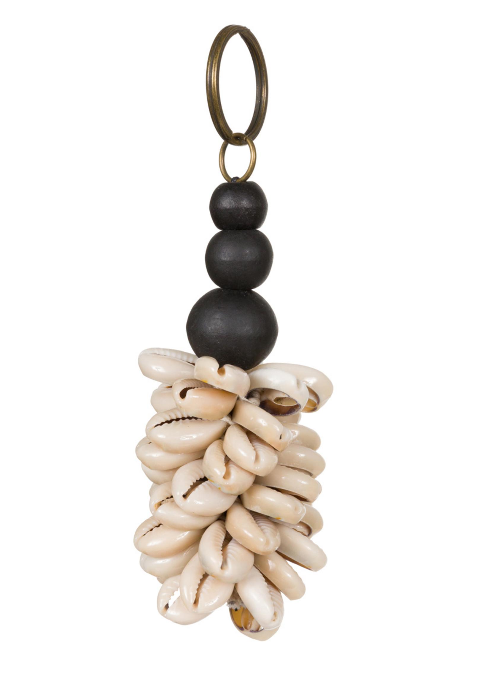 The Canggu Keychain - Natural Black