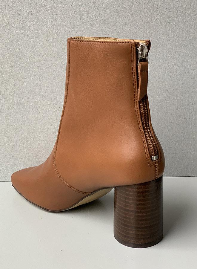 Luna ankle boot caramel