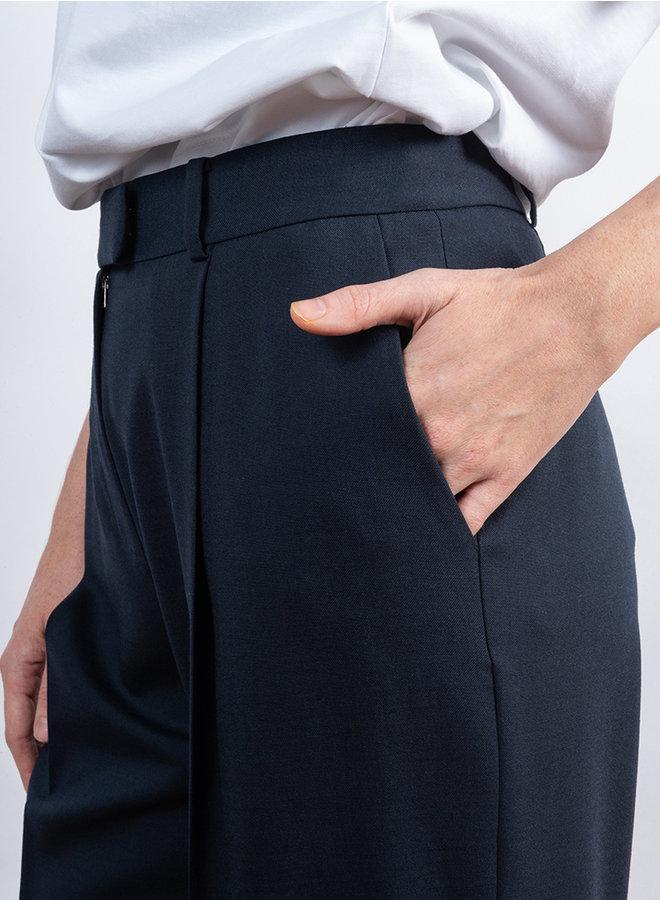 Detail trouser navy