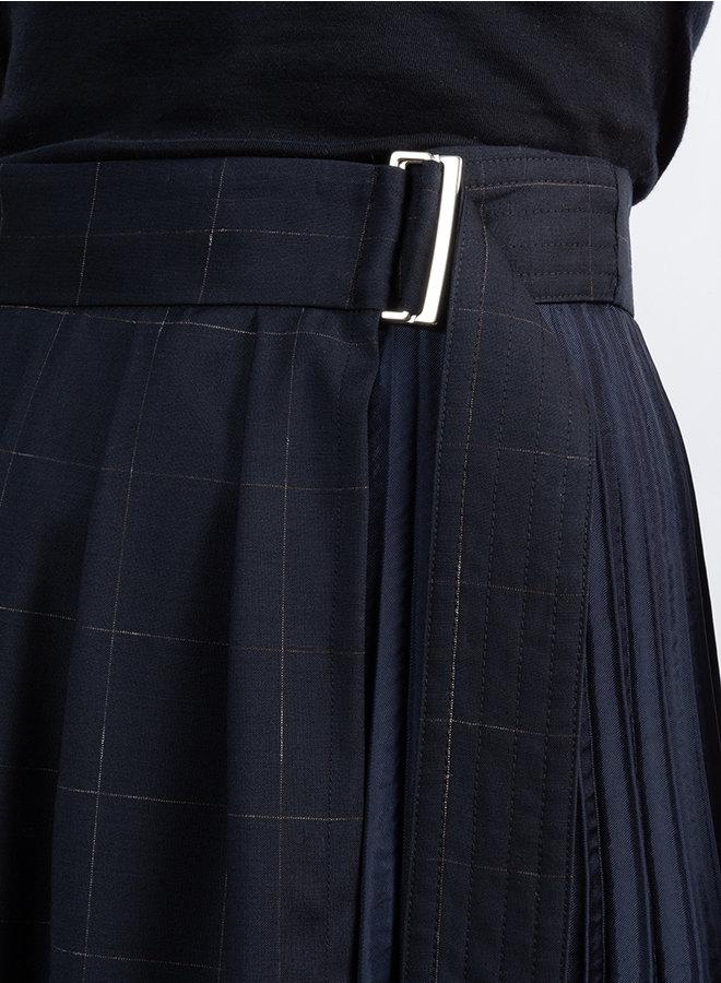 Crush rok blauw streep