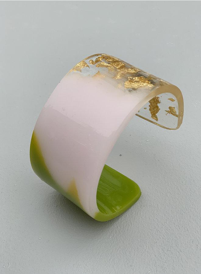 Bracelet c 06 goud groen