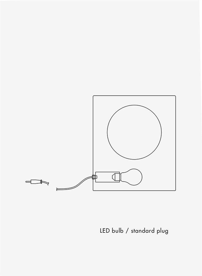 Signal lamp large wit