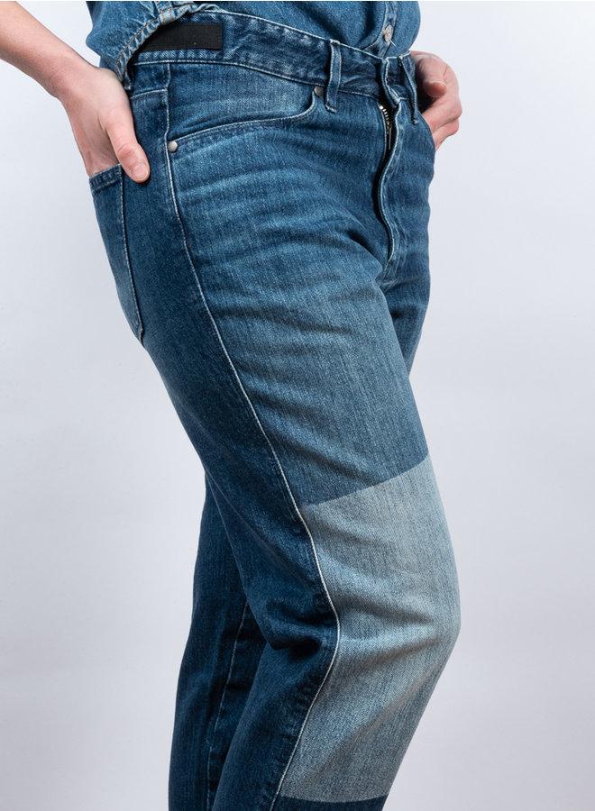Aca 162 jeans patch blue