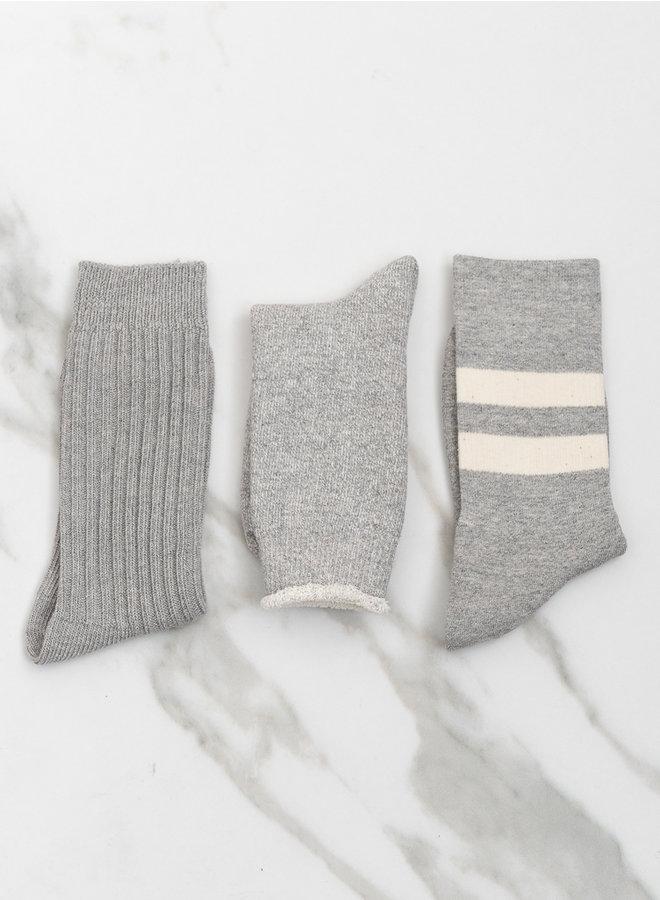 Cotton special trio  mix grey