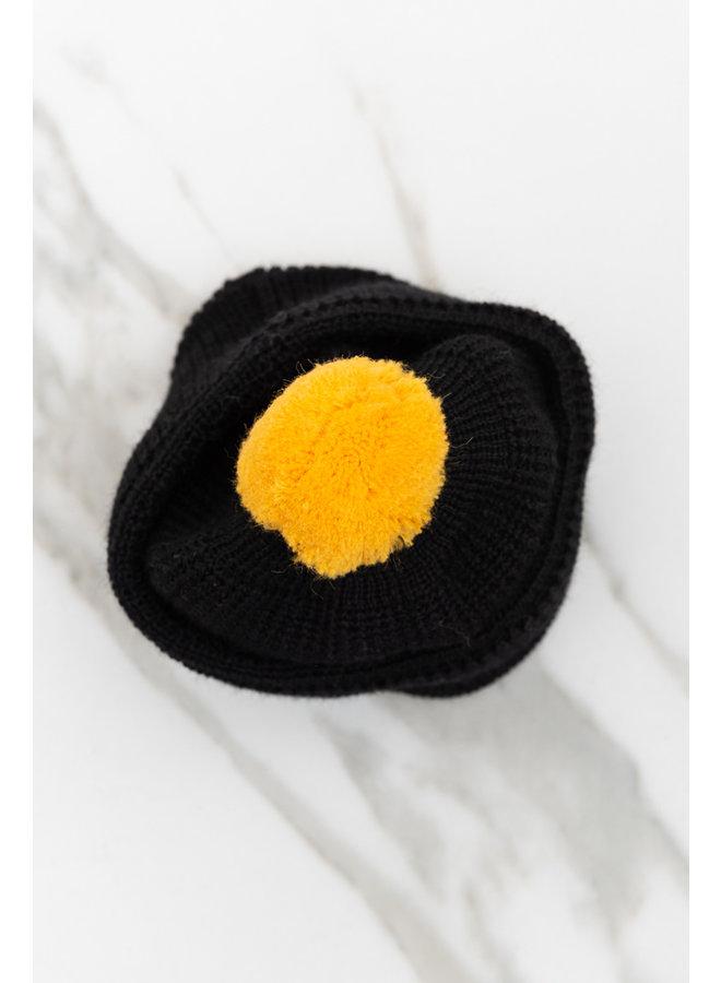 Mechanics bobble hat zwart