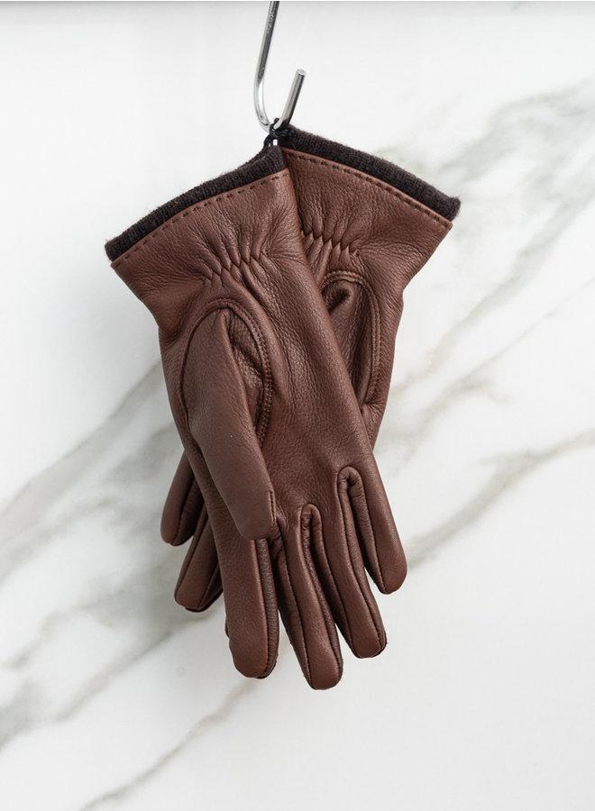 Charlotte handschoen chocolat