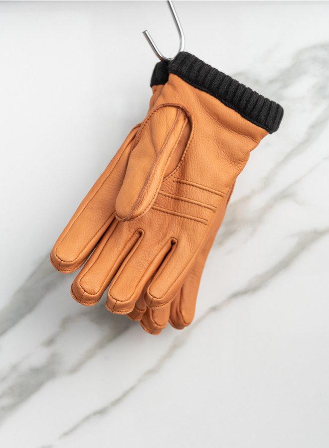Dearskin handschoen primaloft cognac