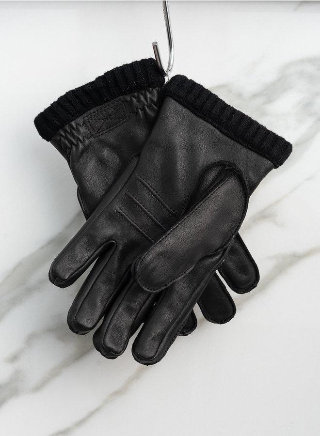 Dearskin handschoen primaloft zwart