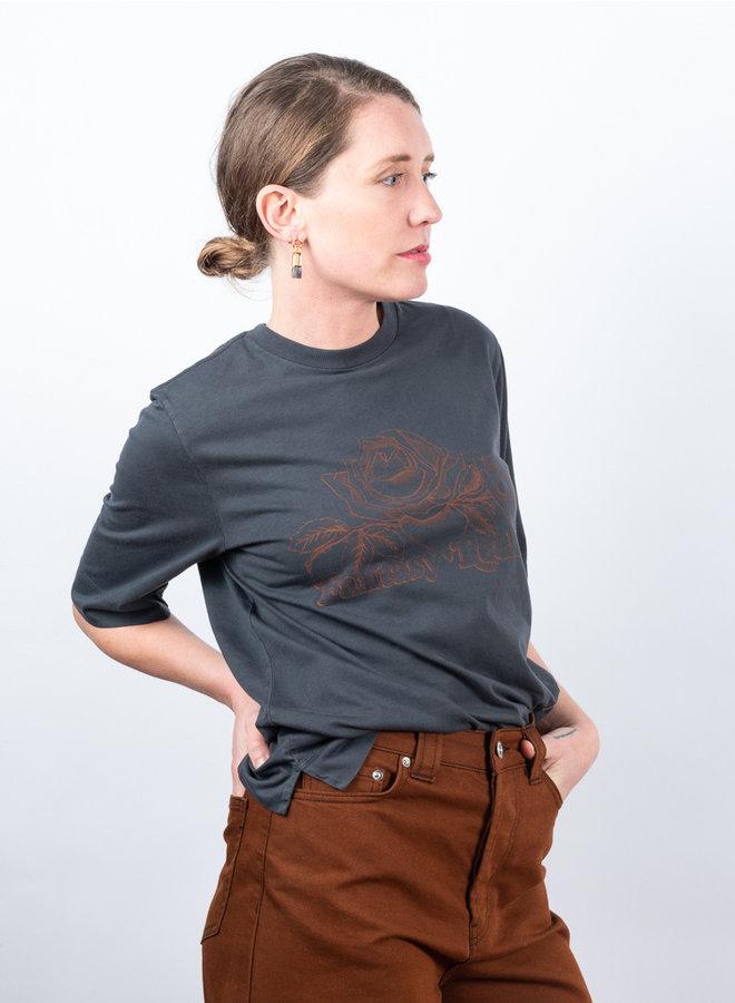 Basic cotton t-shirt print