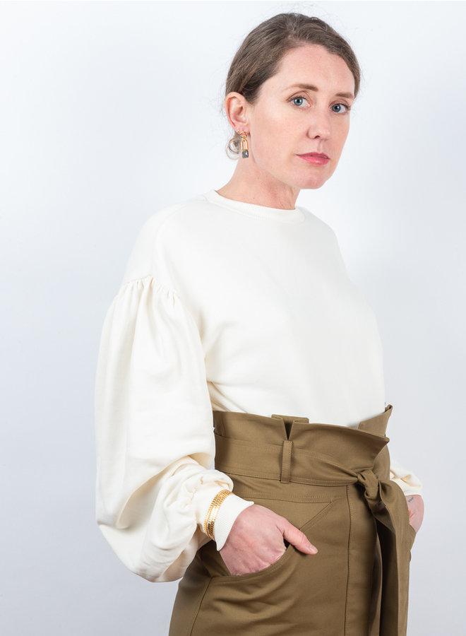 Larice sweater wit