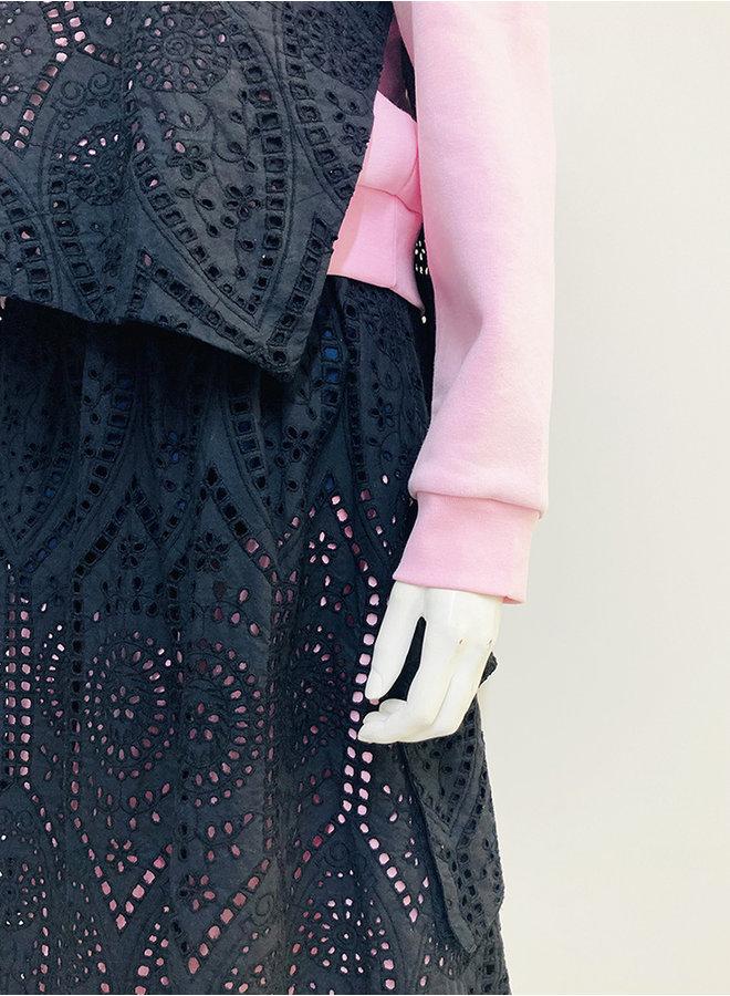 HCK-07 layered skirt