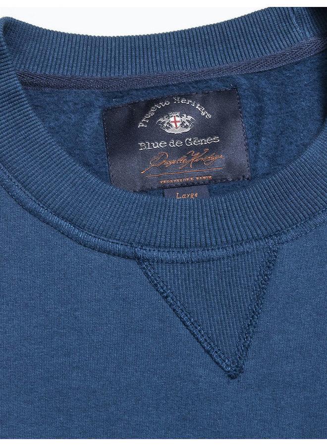 Calo de gene sweater blauw