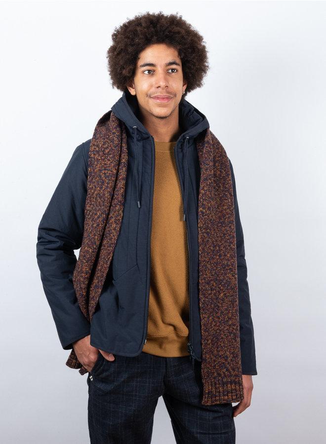 Arbury sjaal roestbruin
