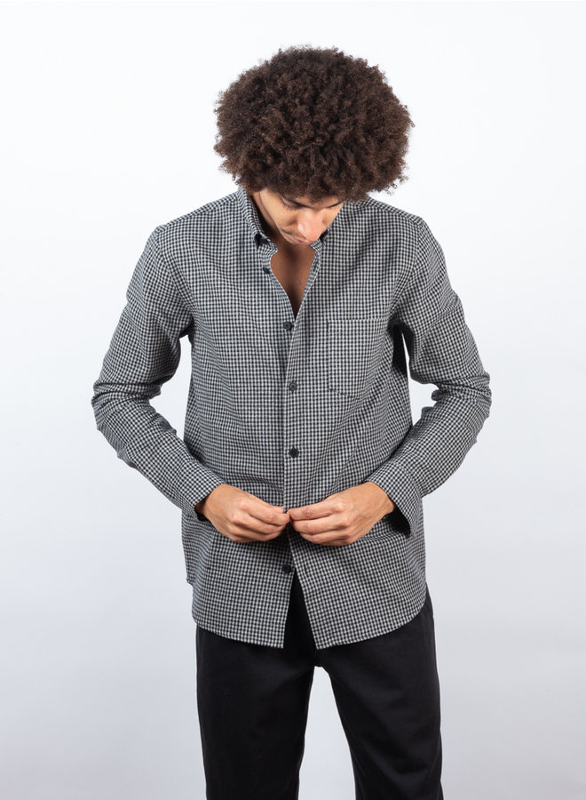 Relaxed fit shirt blauw