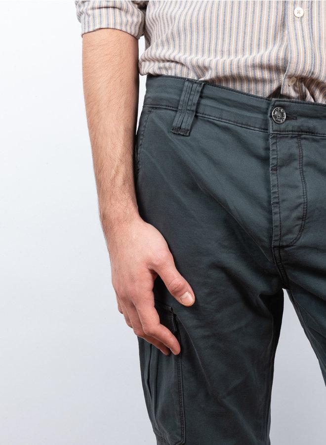 Paulo cargo broek grijs