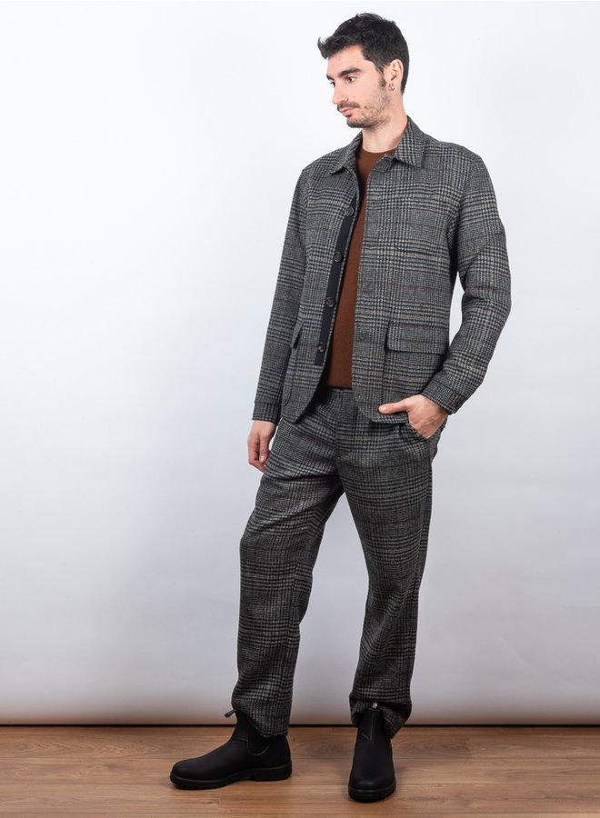 Drawstring broek grijs