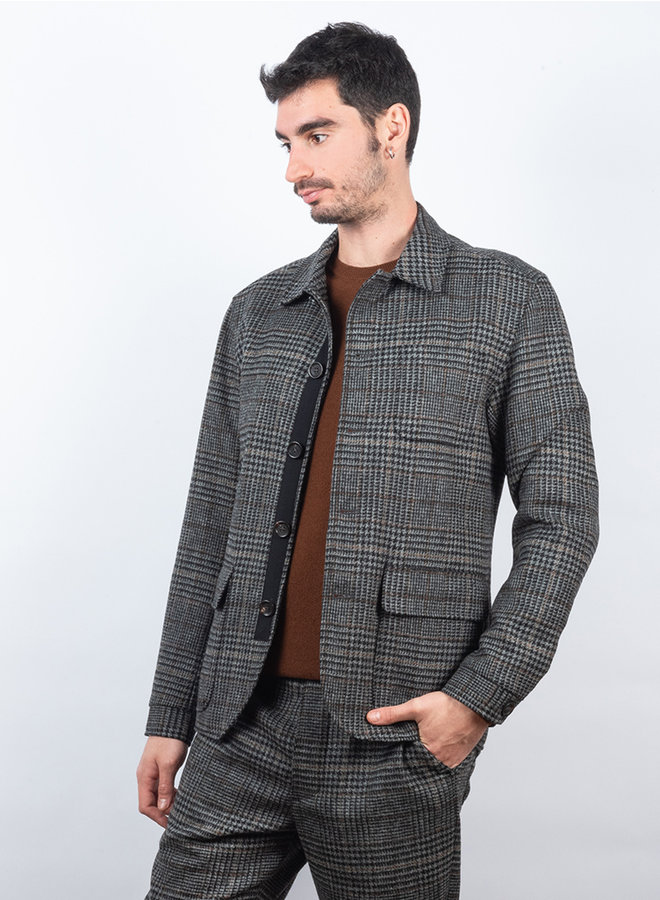 Lawley cowboy jacket grijs