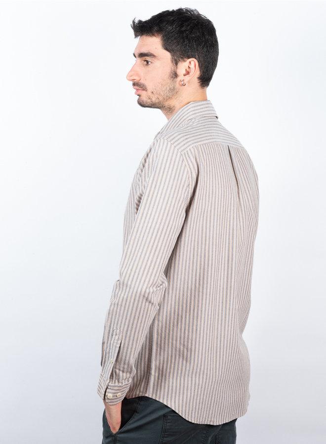 Liam Bx Shirt blauw streep