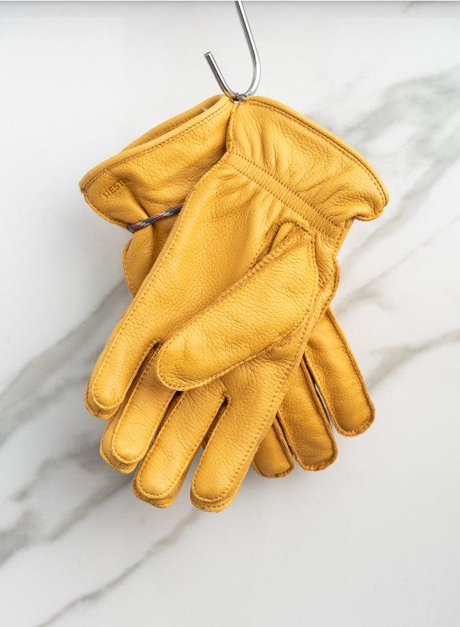 Granvik handschoen geel