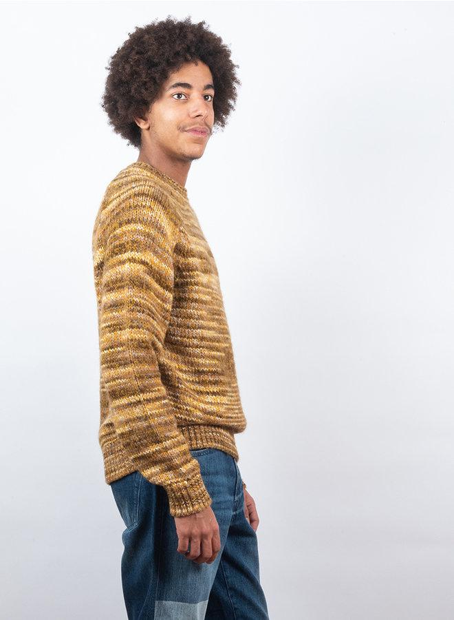 Icko crew neck trui geel