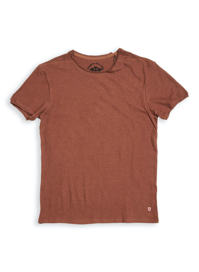 Lino t-shirt inca gold