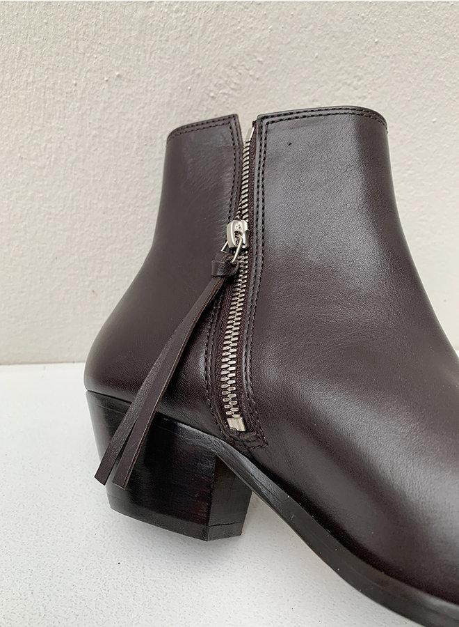 Hunter ankle boots chestnut