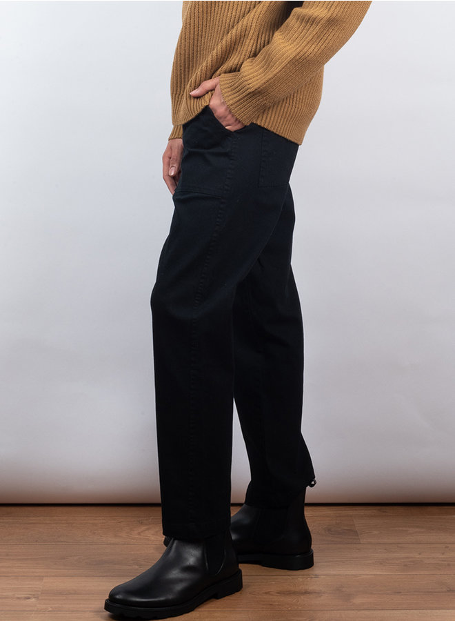 Fanon trousers zwart