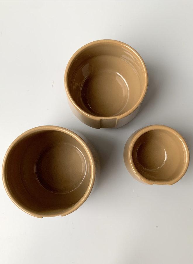 Koffie kop beige