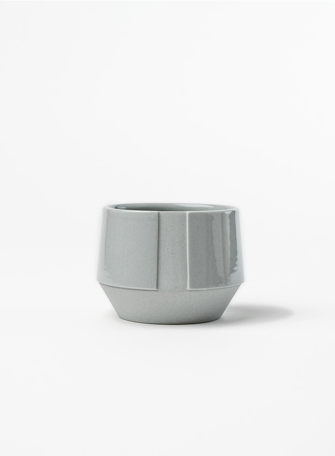 Koffie kop grijs