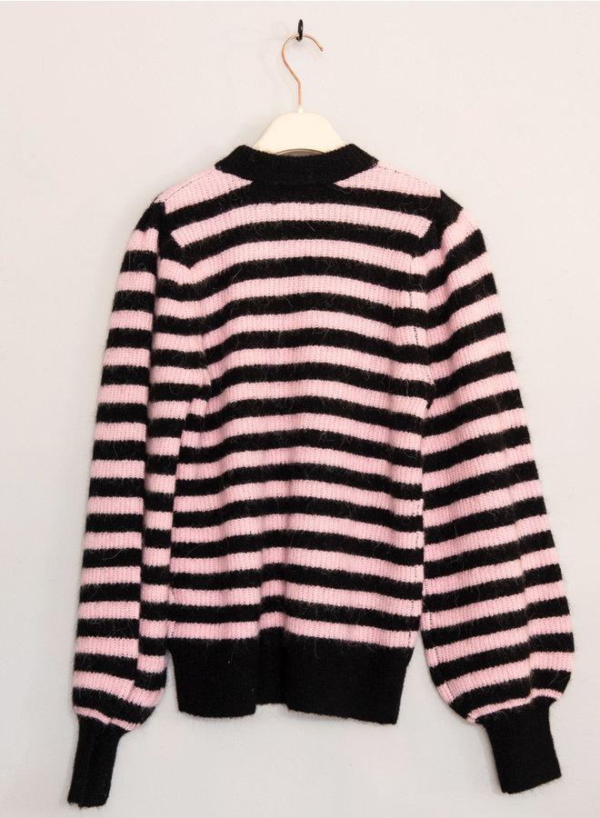 Soft wool trui streep