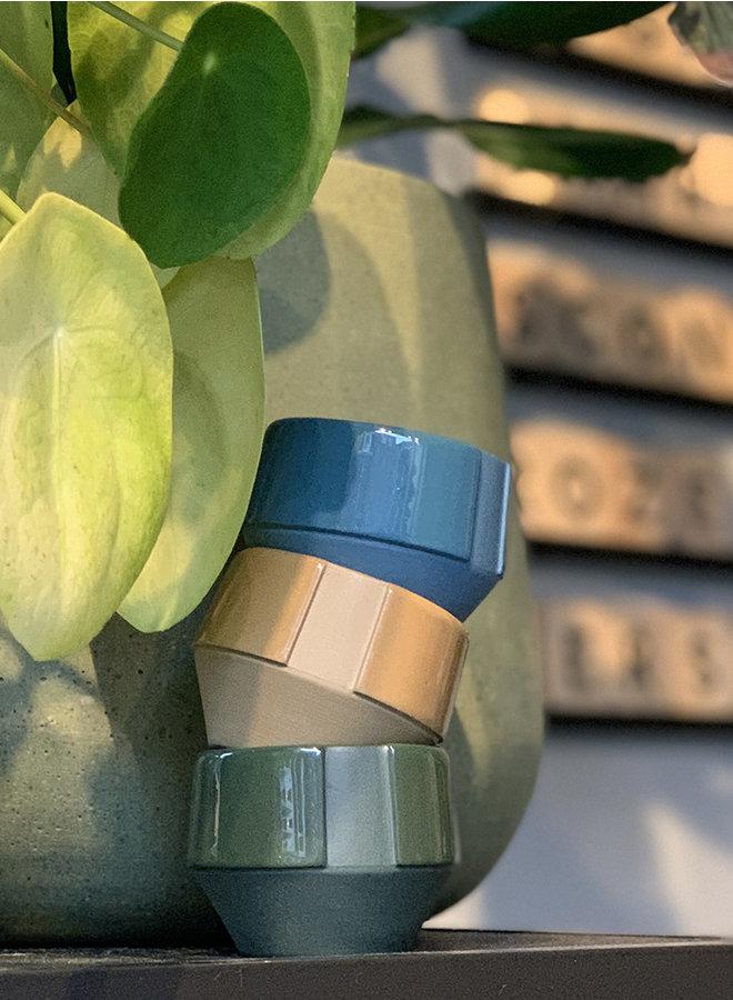 Espresso kopje blauw