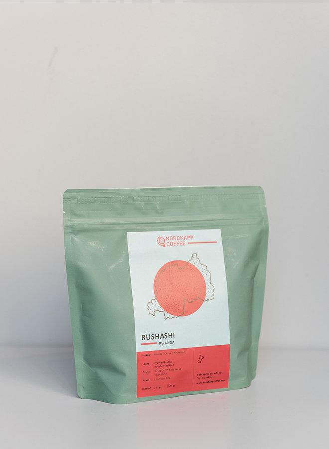 Nordkapp coffee rushashi