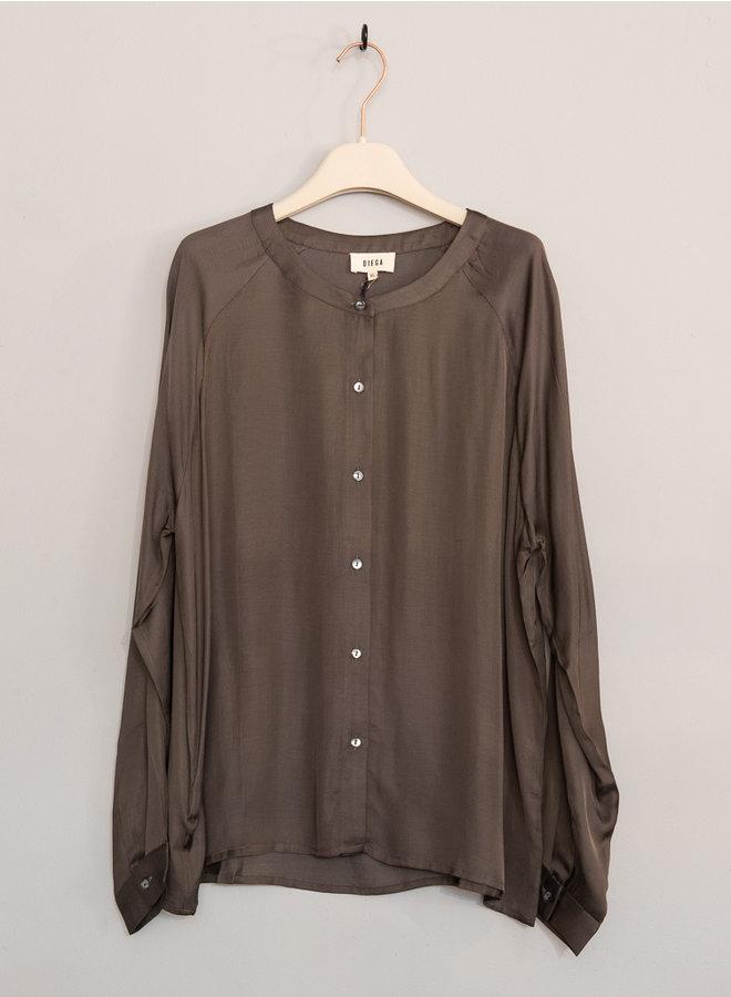 Celina blouse bruin