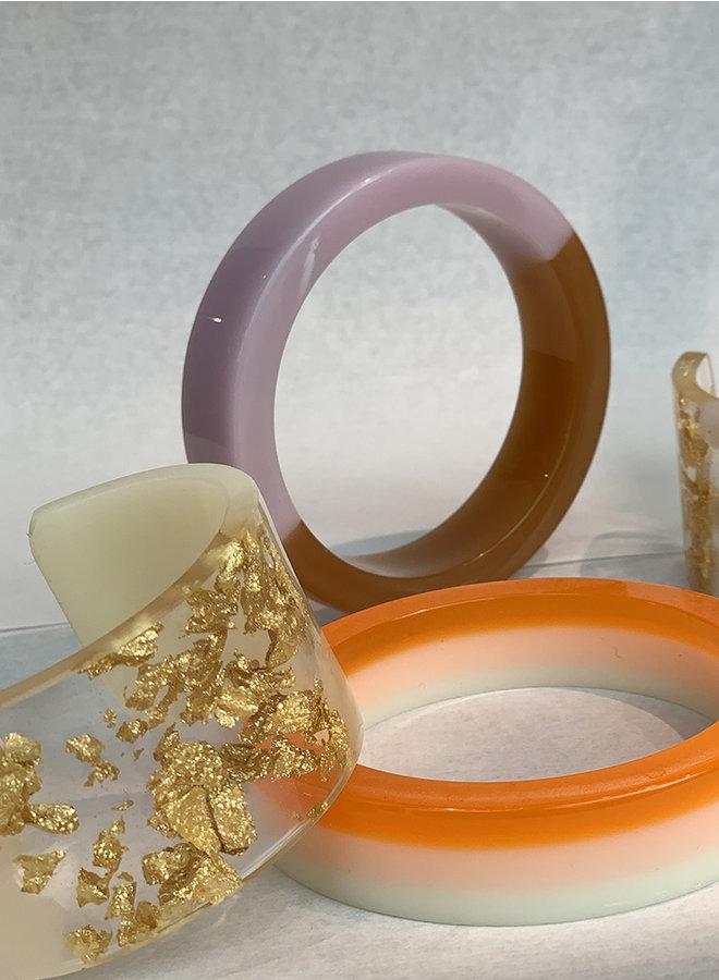 Bracelet A nougatine caramel