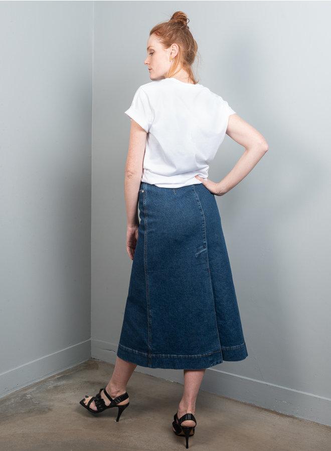 Jeans rok F5793