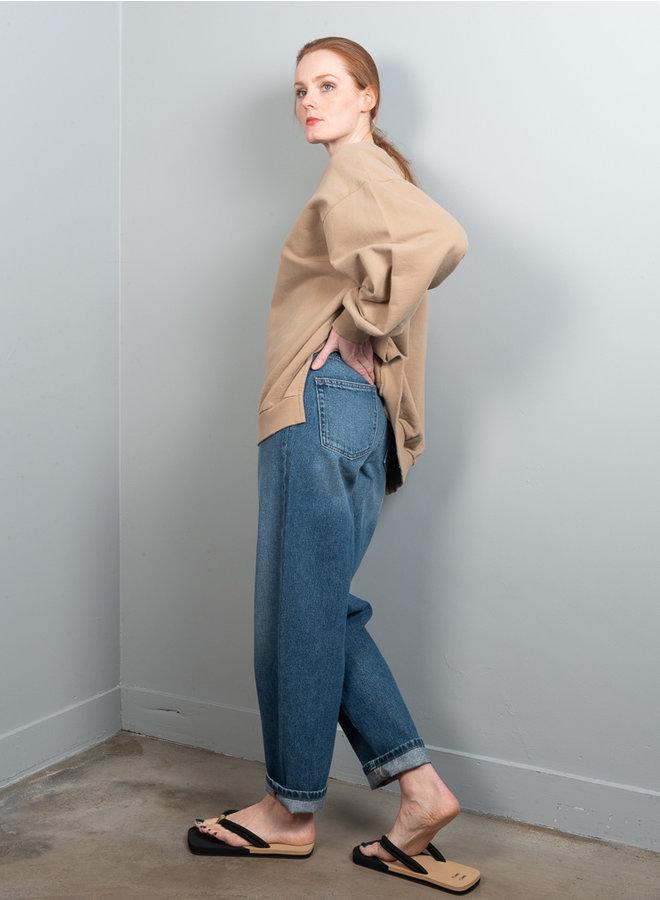 Ulla oversized sweater beige
