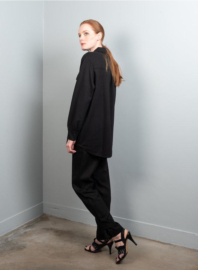 Jessy overshirt zwart