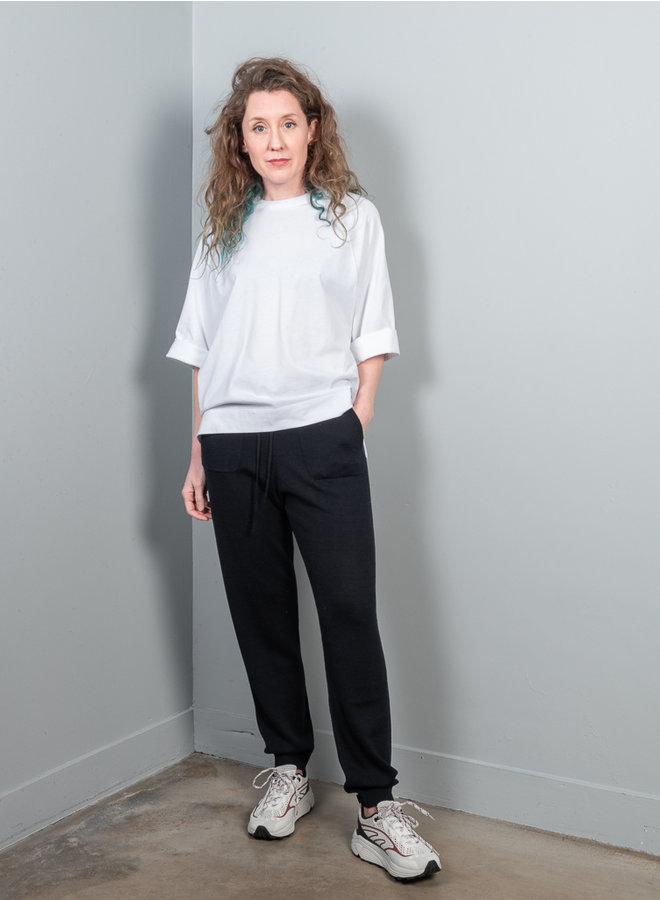 Basic cotton t-shirt wit